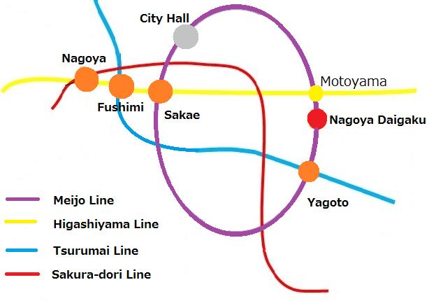 Nagoya Subway Map Pdf.Issw31 31th International Symospium On Shock Waves